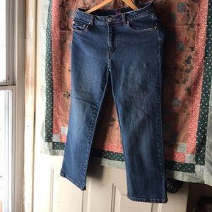 Lilly Pulitzer Palm Beach Capri Jeans